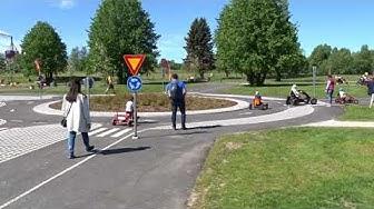 Liikennepuiston avajaiset 2 6 2018