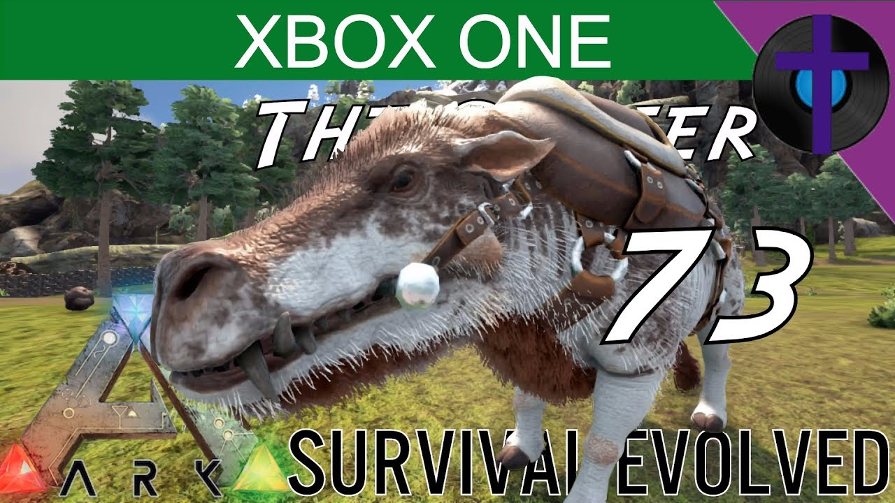 Daeodon Taming Ark Survival Evolved The Center Xbox One Ep 73 Youtube Ark daeodon taming and breeding! youtube