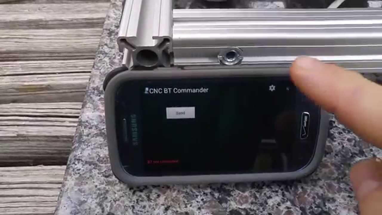 Arduino Android Bluetooth DIY GRBL CNC via HC-06