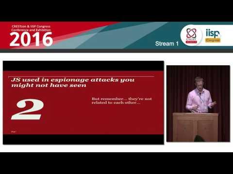 JavaScript in espionage intrusions  - Thomas Lancaster and Chris Doman, PwC: