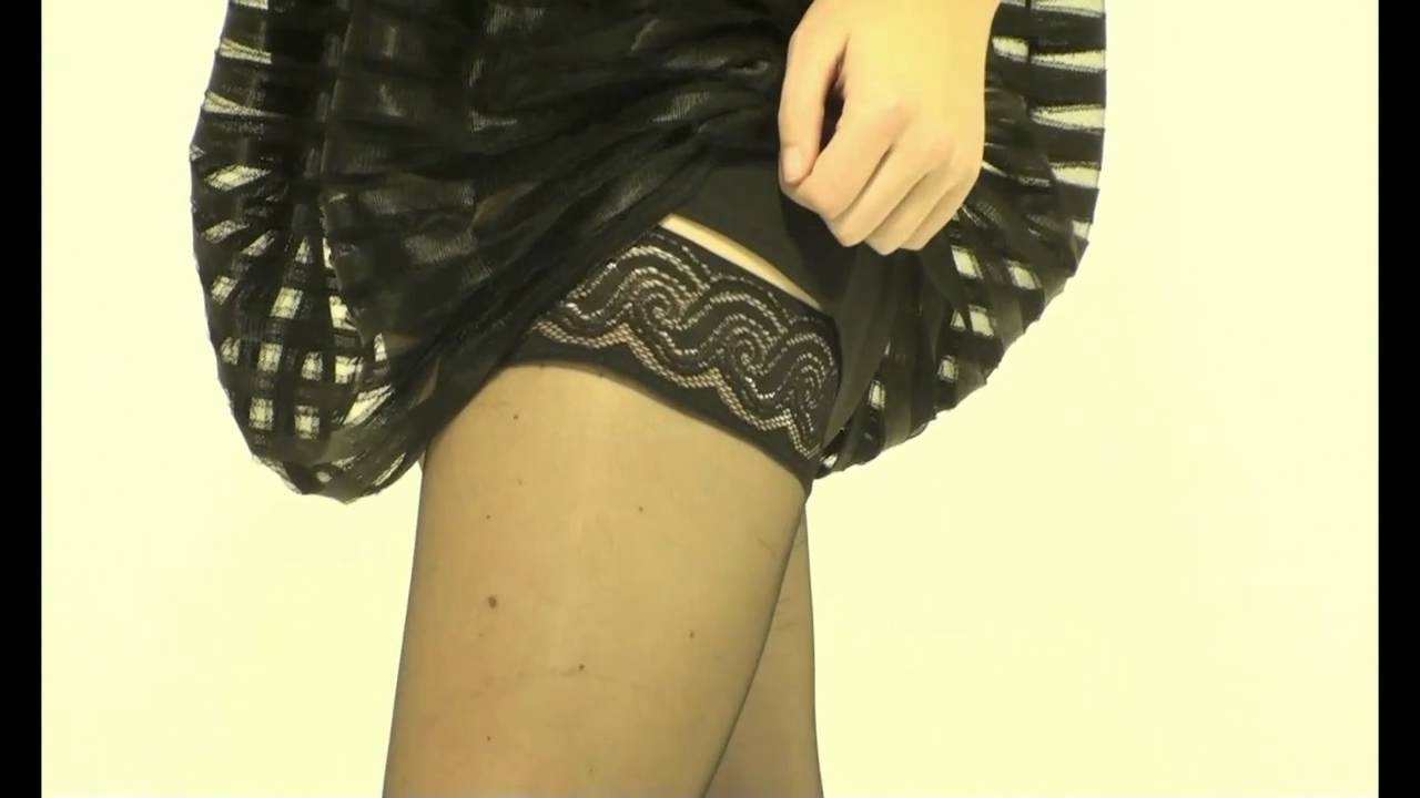 eb21703766c UK Tights - Pretty Polly Nylons Lace Top Hold Ups - YouTube
