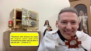 ❤️CORAÇÃO ABERTO❤️ 23/08/19🔥VÓS SEREIS BATIZADOS E MARIA PISA A CABEÇA DA SERPENTE...pisa! pisa 🙏