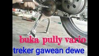 Cara membuka pulley cvt vario