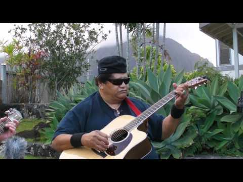 Black Sand - Ledward Kaapana Slack Key Guitar