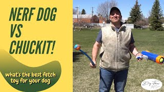 Nerf Dog Vs Chuckit // What's The Best Fetch Toy For Dogs