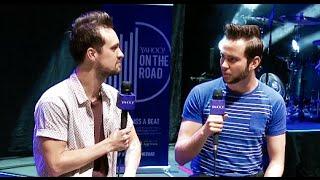 ADORIAN DECK INTERVIEWS PANIC AT THE DISCO & ICONA POP