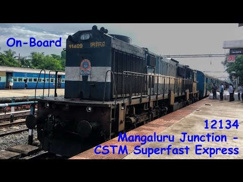 On-Board 12134 Mangaluru - Mumbai Superfast Express!!!!!!!!!
