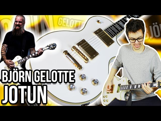 IT HAS A BUILT-IN BOTTLE OPENER!!! || Epiphone Björn Gelotte Jotun Les Paul Custom Demo/Review