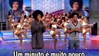 D BLACK e NEGRA LI - 1 MINUTO FAUSTÃO