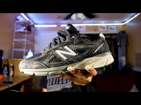 "How to Clean New Balance 990 ""Black"""