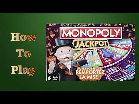 How To Play Monopoly Jackpot Board Game