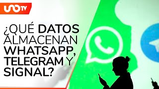 WhatsApp, Telegram y Signal: estos son los datos que recopilan