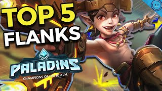 Top 5 Best Flank Champions In Paladins! (Competitive Tier List)