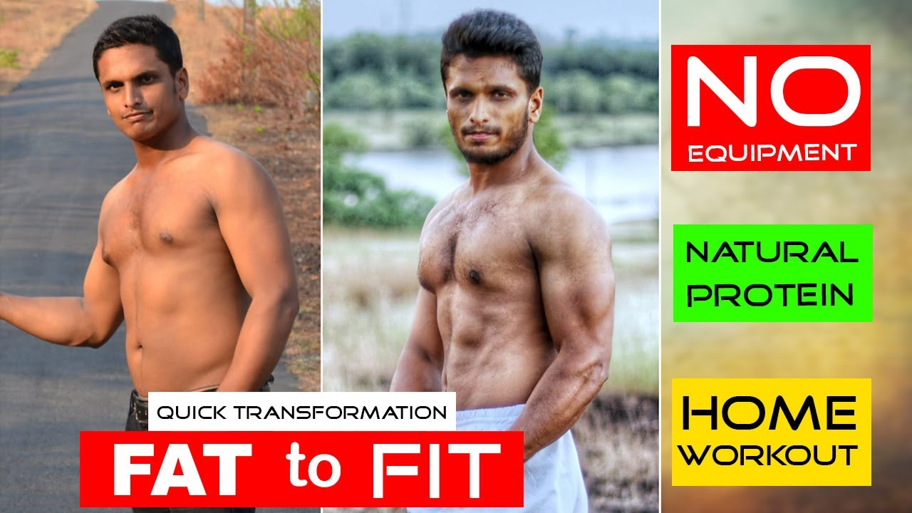 Fat To Fit Quick Transformation I Home Workout