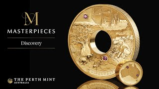 Unique gold and diamond masterpiece unveiled by The Perth Mint