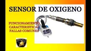Sensor de oxigeno , funcionamiento , caracteristicas , fallas comunes.