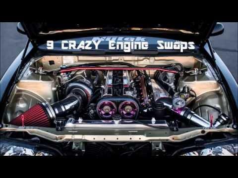 9 CRAZY Engine Swaps