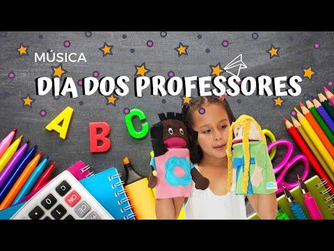 DIA DOS PROFESSORES (MÚSICA) - HOMENAGEM EMOCIONANTE