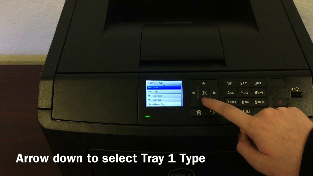 How to Set Your Dell B3460dn Printer to Print on Labels