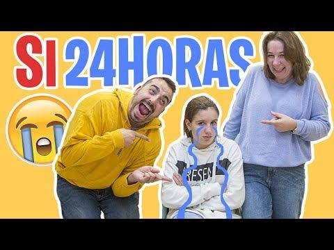 24 Horas diciendo SI A TODO ¡¡A MIS PADRES!!