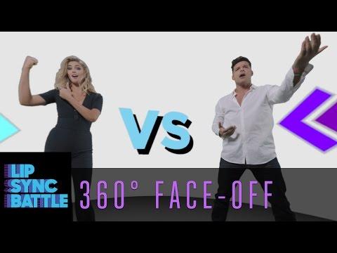 LSB 360 Face-Off: Ricky Martin vs. Kate Upton   Lip Sync Battle