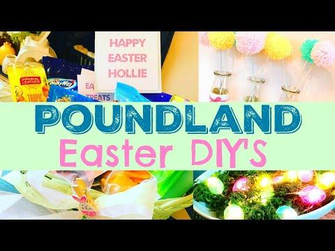 POUNDLAND HACKS | Easter DIY's | MAKE YOUR OWN KIDS EASTER BASKETS  (ad)