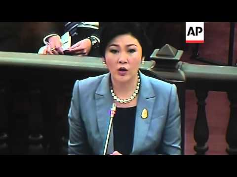 Embattled Thai PM testifies in abuse of power case