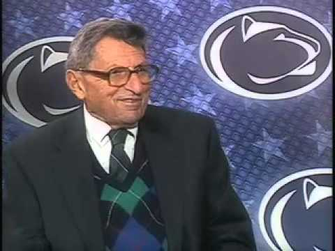 An interview with Joe Paterno