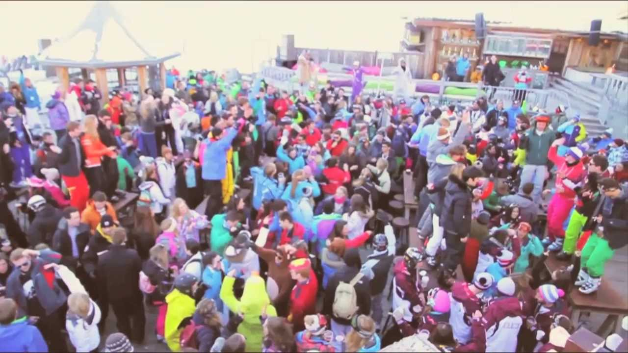 La Folie Douce Val D Isere Opening Party 2014 Youtube