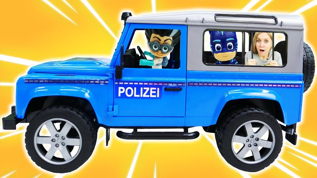 Видео для детей — Полицейская машина из Плей До — Мультики про машинки и пластилин Play Doh