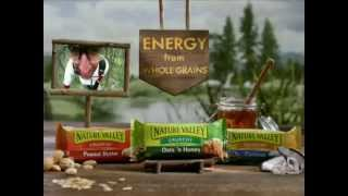 Tv Spot - Nature Valley Granola Bar - Energy From Whole Grains - Crunchy Oats & Caramel