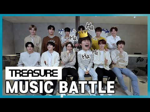 [SSY] TREASURE가 보내는 Music Battle 도전장!