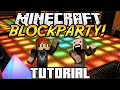 Minecraft │ BLOCKPARTY! (Dancing Minigame) │ Plugin Tutorial