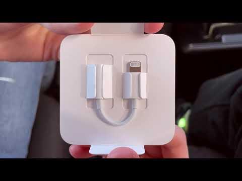 Адаптер Apple Lightning - 3.5 mm White (MMX62ZM/A)