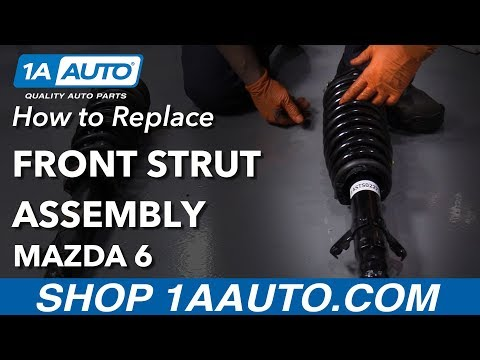 How to Replace Front Struts 02-07 Mazda 6