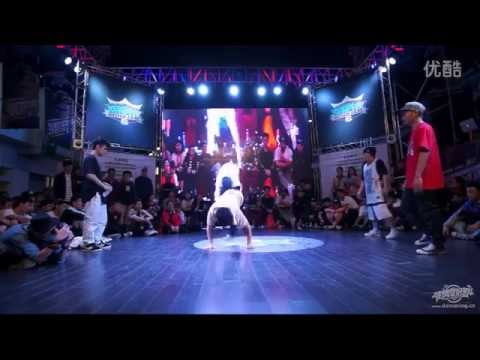 FINAL  BATTLE BBOY NO NAME &  ? VS CHROME HEARTZ KOREA | BOMB JAM WORLD FINALS 2014