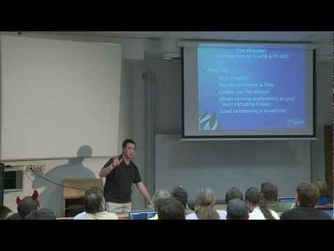 The Warden - FreeBSD and Linux Jail Managementt - Kris Moore, EuroBSDcon 2012