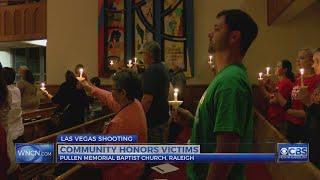 Raleigh vigil mourns Las Vegas shooting