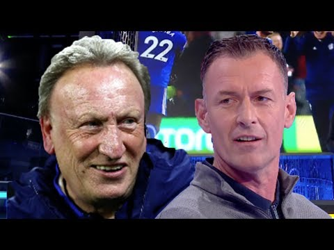 """Cardiff will go down!"" Awkward moment between Chris Sutton and Neil Warnock"