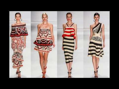 Платья в полоску - модный тренд 2017