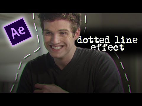After Effects Tutorial | Dotted Lines