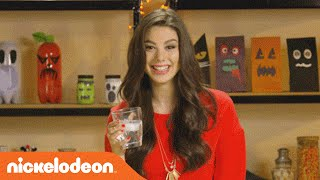 How to Make Tricked Out Treats w/ Kira Kosarin | Halloween Hacks | Nick
