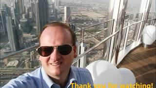 Dubai from the sky - Burj Khalifa view