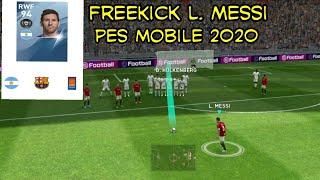 Free Kick L. Messi eFootball pes 2020