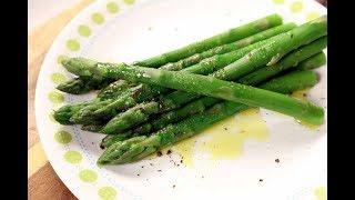 How to cook aspaŗagus the 2 easiest ways