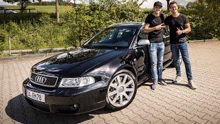 WOLF IM SCHAFSPELZ! | Audi RS4 B5 mit Bewerber Nic | Daniel Abt