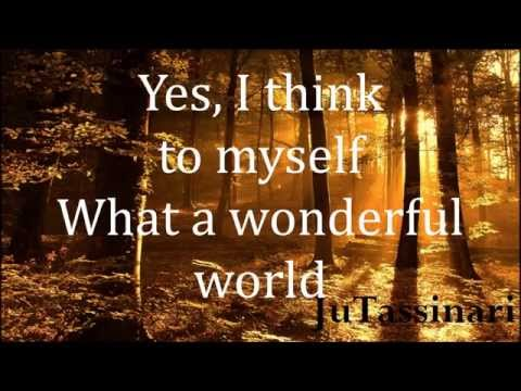What A Wonderful World - Joey Ramone - Lyrics