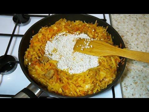Капуста с Рисом и Мясом. Вкусный Ужин для Всей Семьи