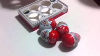 открываем киндер сюрприз коллекция самолетов прикольные игрушки сладости kinder eggs