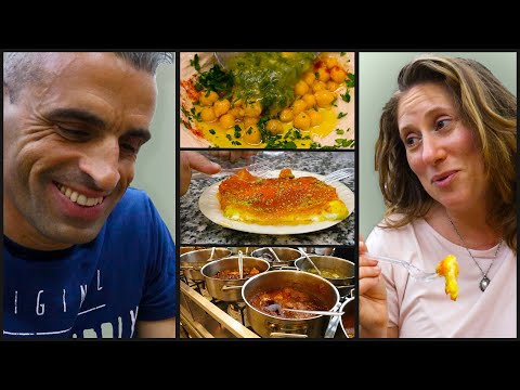 JERUSALEM FOOD TOUR - Best Hummus In Israel, Falafel, Jerusalem Old City Street Food